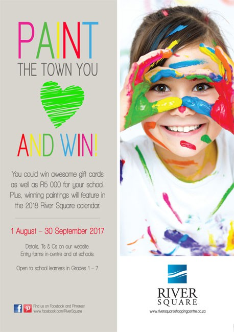 Paint the town you love and win