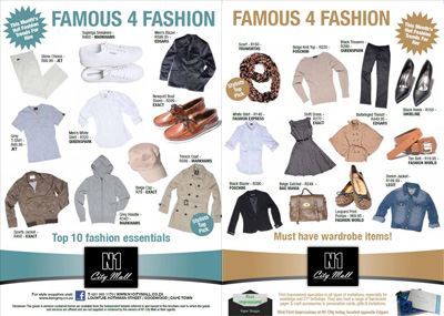 Fashion Events on This Months Fashion Flyer Is Packed With Must Have Fashion Essentials